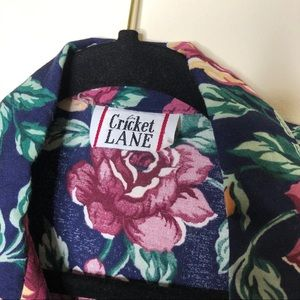 Tops - Vintage Cricket Lane Floral Long Sleeve Top